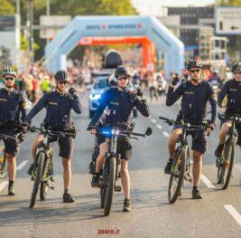 دوچرخههای برقی پلیس اتریش