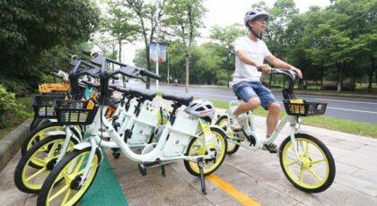دوچرخه برقی در چین