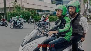 موتور برقی اشتراکی در جاکارتا