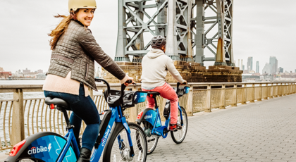 دوچرخه برقی اشتراکی در نیویورک